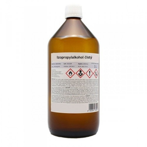 Izopropylalkohol (IPA) čistý - 1l