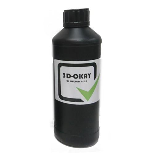 Živica/Resin 3D-Okay UV čierna - 500ml