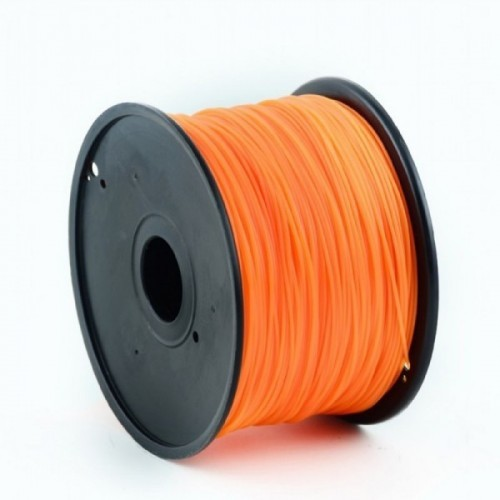 GEMBIRD Náplň 3D PLA/1.75mm/1kg Oranžová