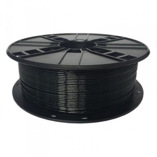 GEMBIRD Náplň 3D PETG 1.75mm/1kg Čierna
