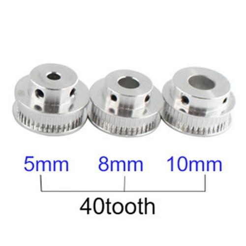 Rozvodové remenice GT2 40 zubov s otvorom 5 mm/8 mm/ 10mm