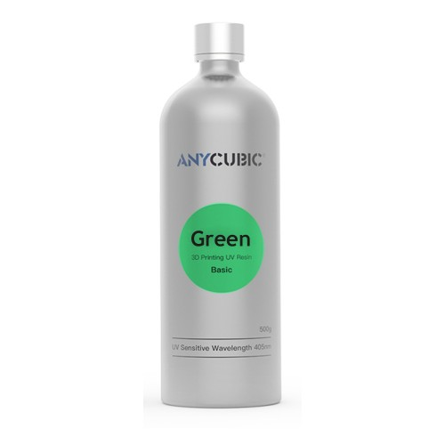 Živica/Resin UV Anycubic Zelená - 500ml