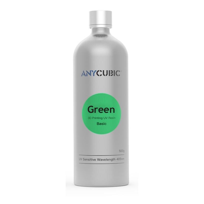 Živica/Resin UV Anycubic Zelená - 500ml