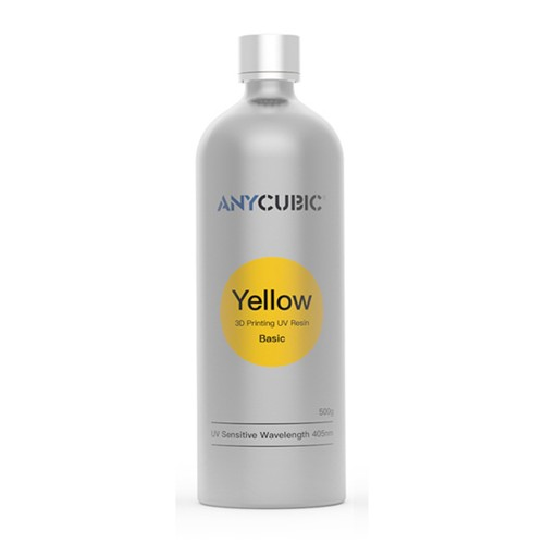Živica/Resin UV Anycubic Žltá - 500ml