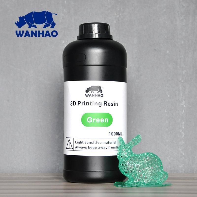 Živica/Resin Wanhao UV Zelená - 1000ml
