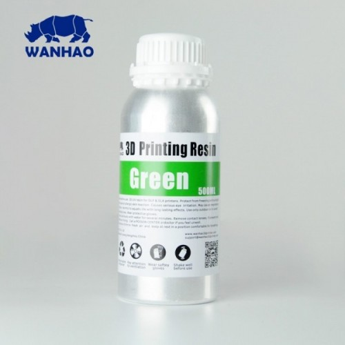 Živica/Resin Wanhao UV Zelená - 500ml