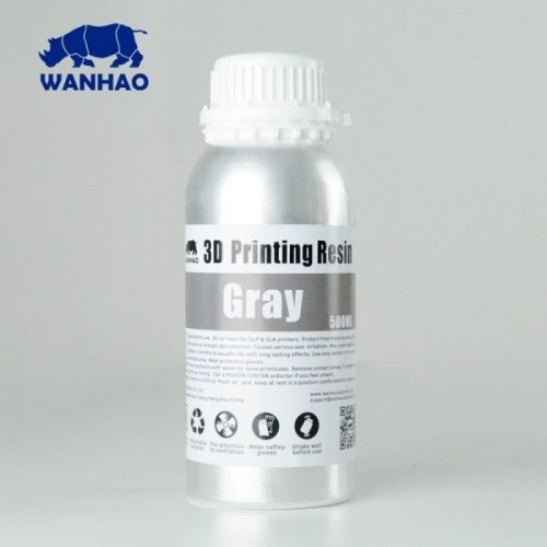 Živica/Resin Wanhao UV Šedá - 500ml