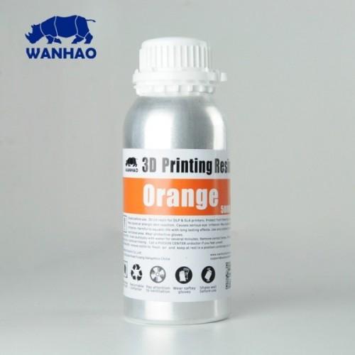 Živica/Resin Wanhao UV Oranžová - 500ml