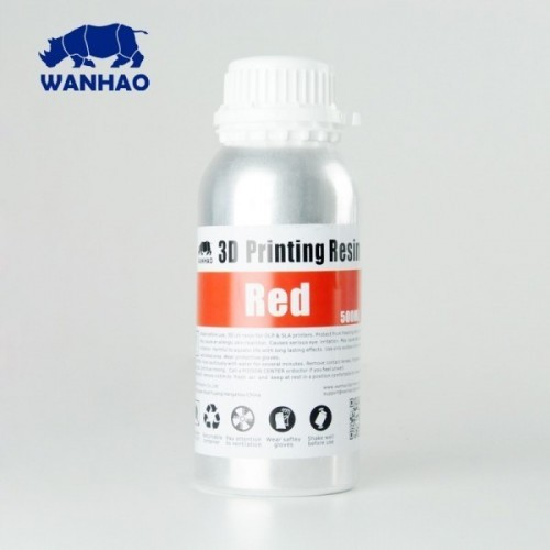 Živica/Resin Wanhao UV Červená - 500ml