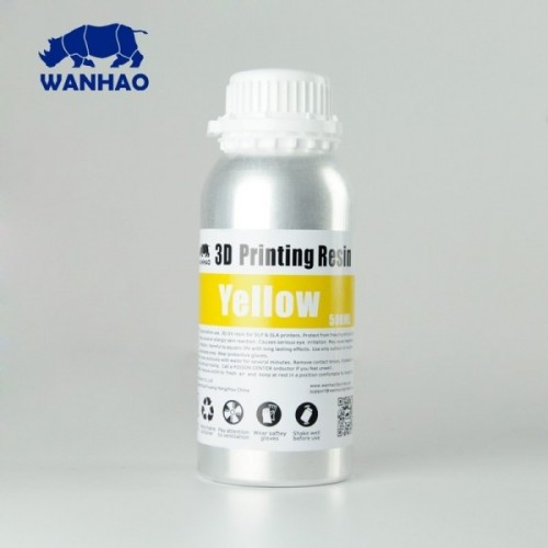 Živica/Resin Wanhao UV Žltá - 500ml
