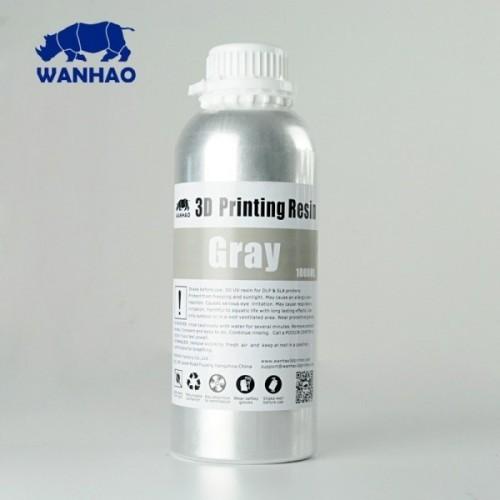 Źivica/Resin UV Wanhao umývateľná s vodou Šedá - 1000 ml