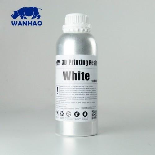 Źivica/Resin UV Wanhao umývateľná s vodou Biela - 1000 ml