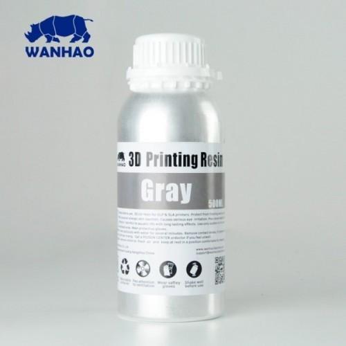 Źivica/Resin UV Wanhao umývateľná s vodou Šedá - 500 ml