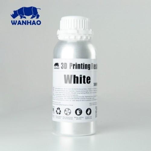 Źivica/Resin UV Wanhao umývateľná s vodou Biela - 500 ml