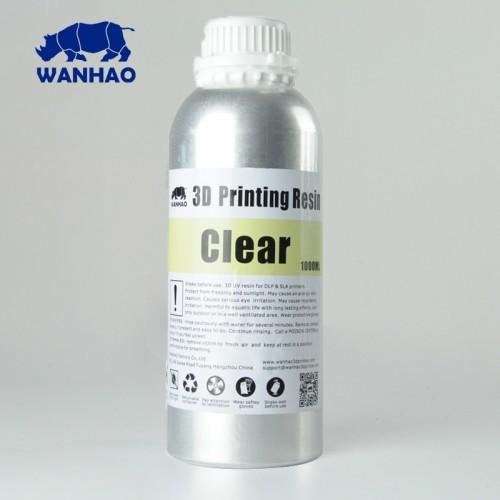 Źivica/Resin UV Wanhao umývateľná s vodou Transparentná - 1000 ml