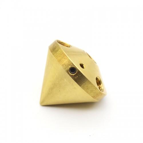 Mosadzová extrudérova tryska Diamond 3v1