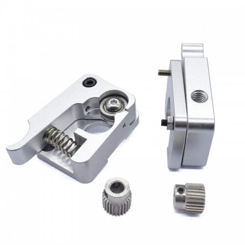 MK10 hliníkový extrudér - pravá/ľavá časť