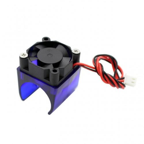 Chladiaci ventilátor E3D V6 s držiakom na vykurovací blok
