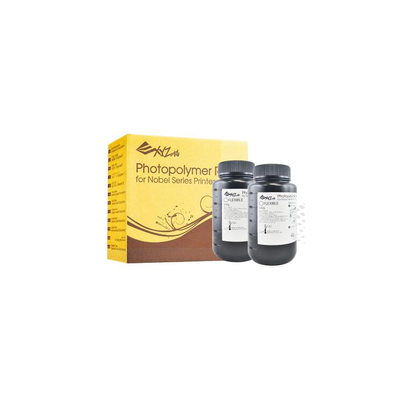 Živica/Resin XYZprinting UV Cureble Flexibilné 2 x 500 ml fľaše