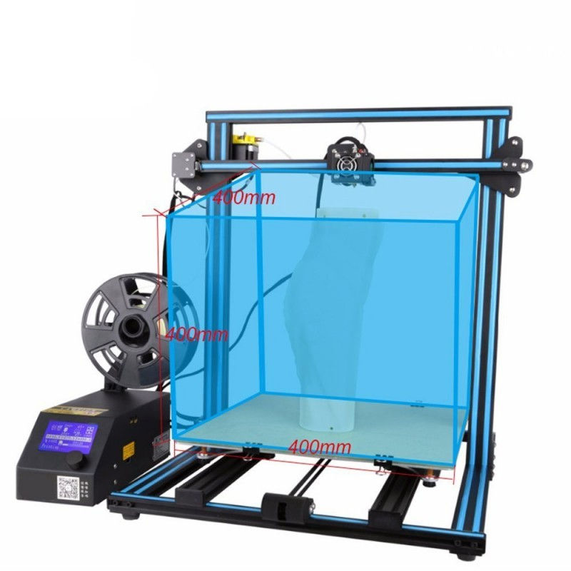 3D tlačiareň Creality3D CR-10 S4 400x400x400 mm