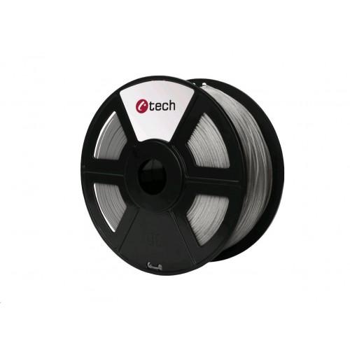 C-TECH tlačová struna (filament), PLA, 1,75 mm, 1kg, mramor