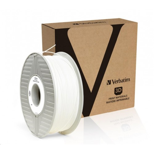 Verbatim tlačová struna (filament), ABS, 1,75 mm, 1kg, biela
