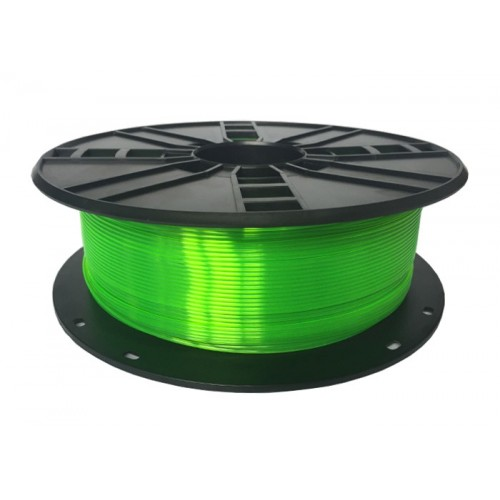 GEMBIRD Náplň 3D PLA Plus 1.75mm 1kg Zelená