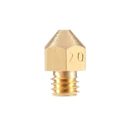 Mosadzná extrudérová tryska 1 mm/1,5 mm/2 mm