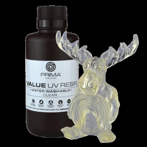 Živica/Resin PrimaCreator Value umývateľná s vodou Transparentná - 500 ml