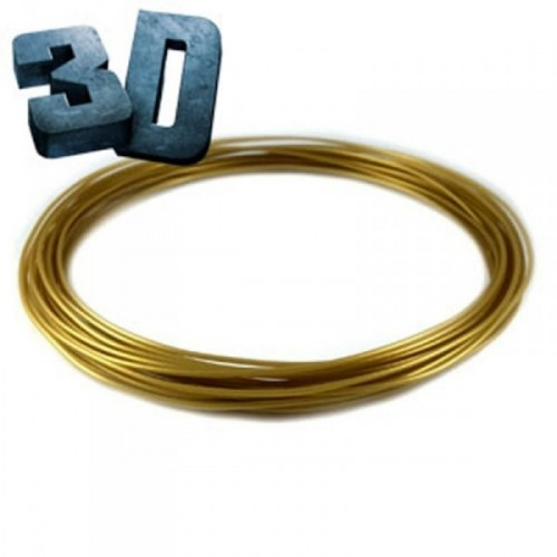 Nápln ABS pre 3D pero zlatá 1.75mm