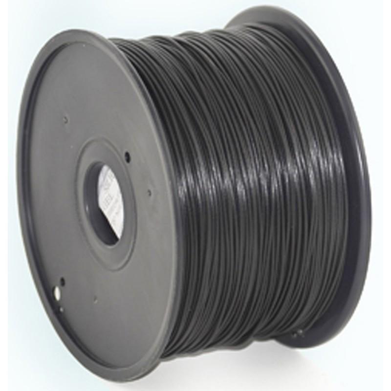 GEMBIRD Náplň 3D PLA 1.75mm 1kg Čierna