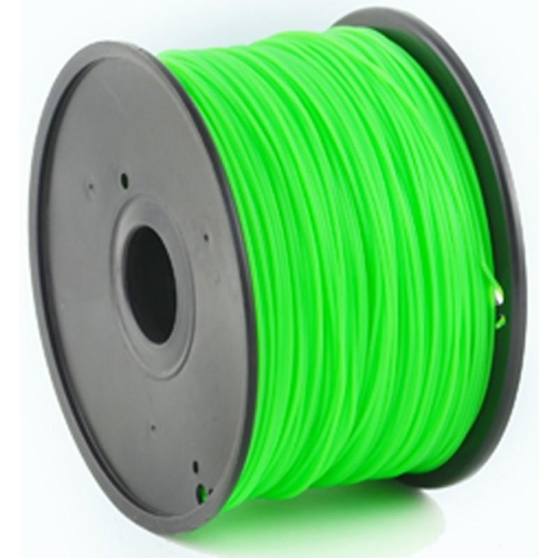 GEMBIRD Náplň 3D PLA 1.75mm 1kg Zelená
