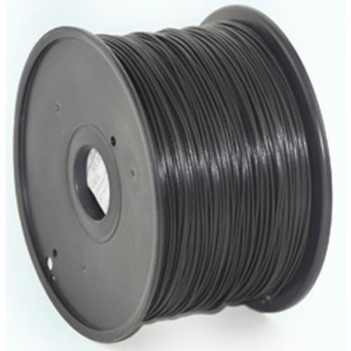 GEMBIRD Náplň 3D ABS 1.75mm 1kg Čierná