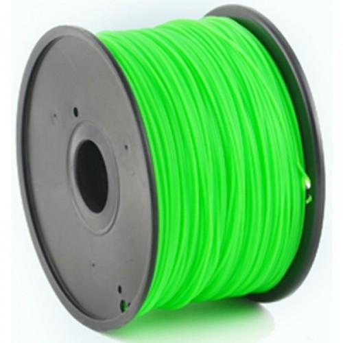 GEMBIRD Náplň 3D ABS 1.75mm 1kg Zelená