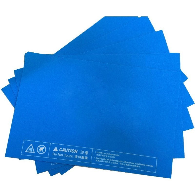 Modrá samolepka (rôzne rozmery)
