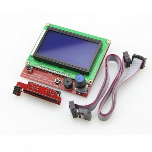 LCD displej 12864 s čítačkou SD karty pre RAMPS 1.4
