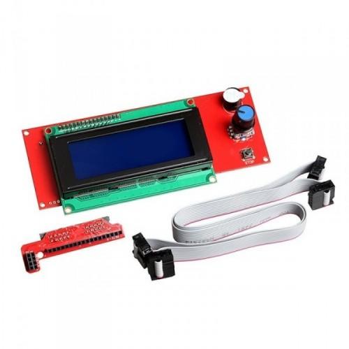 LCD displej 2004 s čítačkou SD karty pre RAMPS 1.4