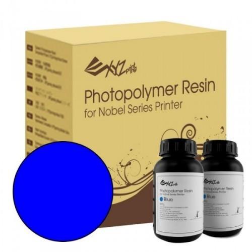 Živica pre XYZ Nobel/resin modrá farba, 2 fľaše (2 x 500ml)