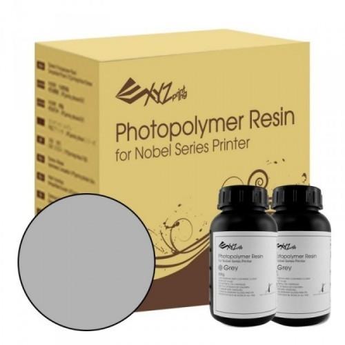 Živica pre XYZ Nobel/resin sivá farba, 2 fľaše (2 x 500ml)
