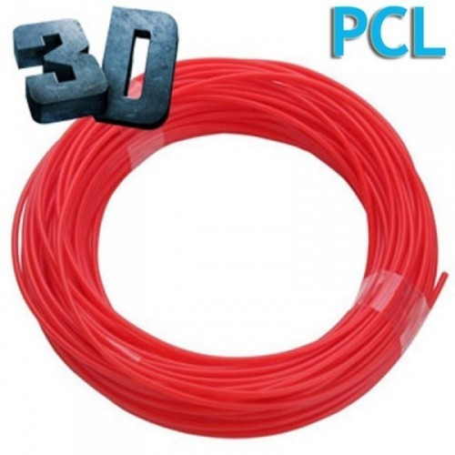 Nápln PCL pre 3D pero červená 1.75mm